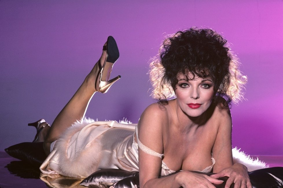Joan collins fake photos #3