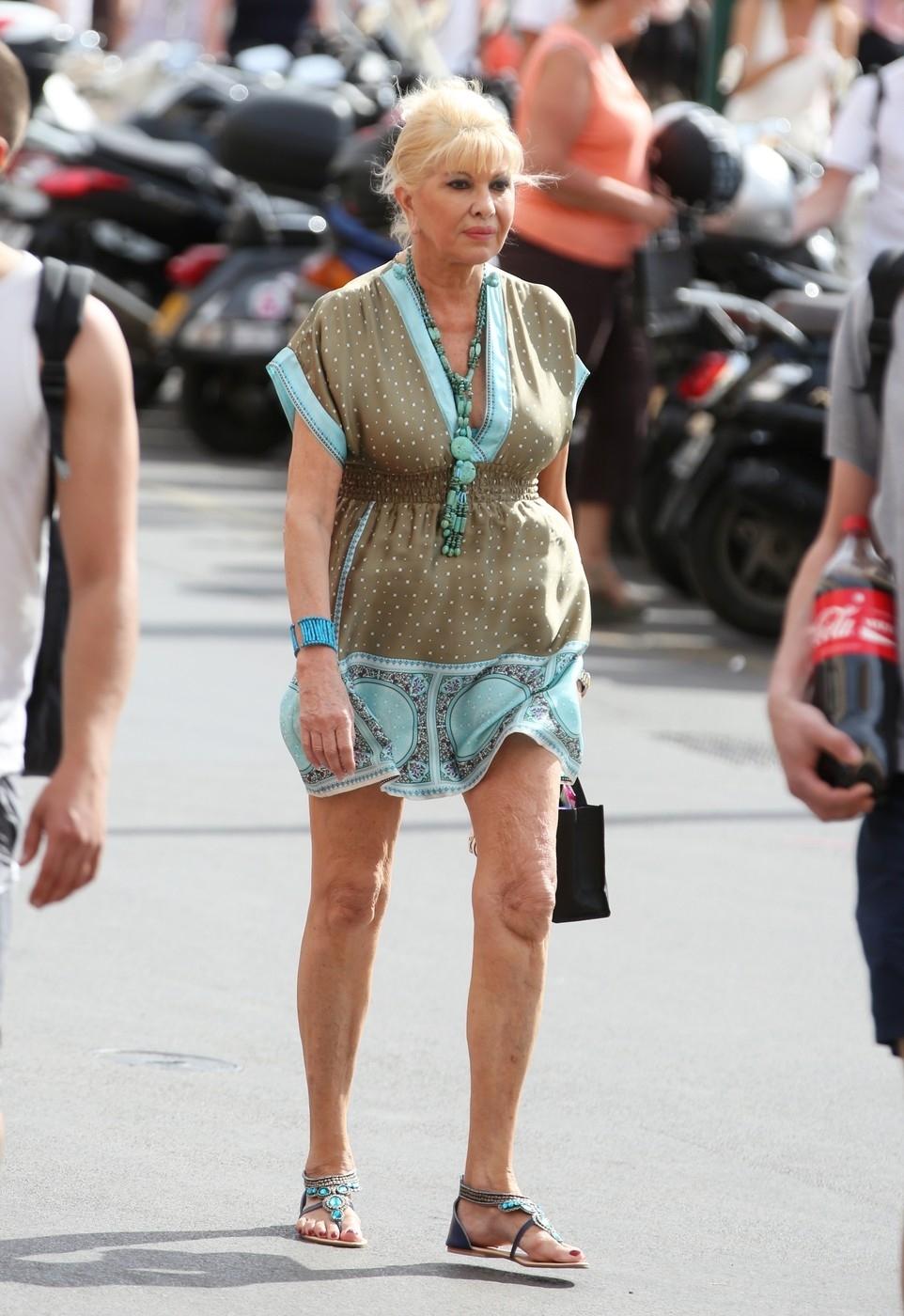 Ivana Trump si stárnutí nepřipouští.