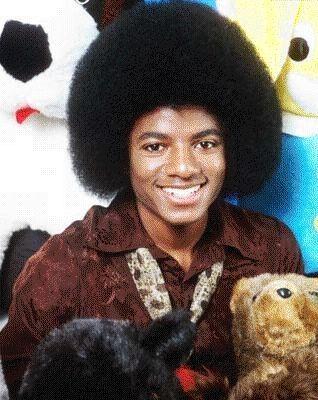 Michael Jackson ještě před plastikami