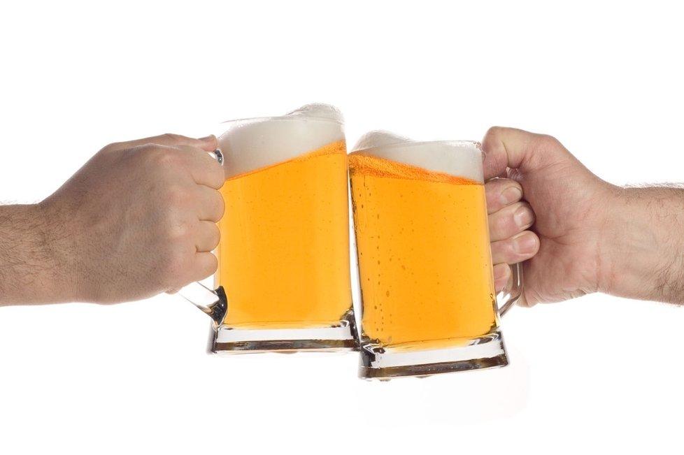 Rekord v pití piva jsme si nenechali vzít