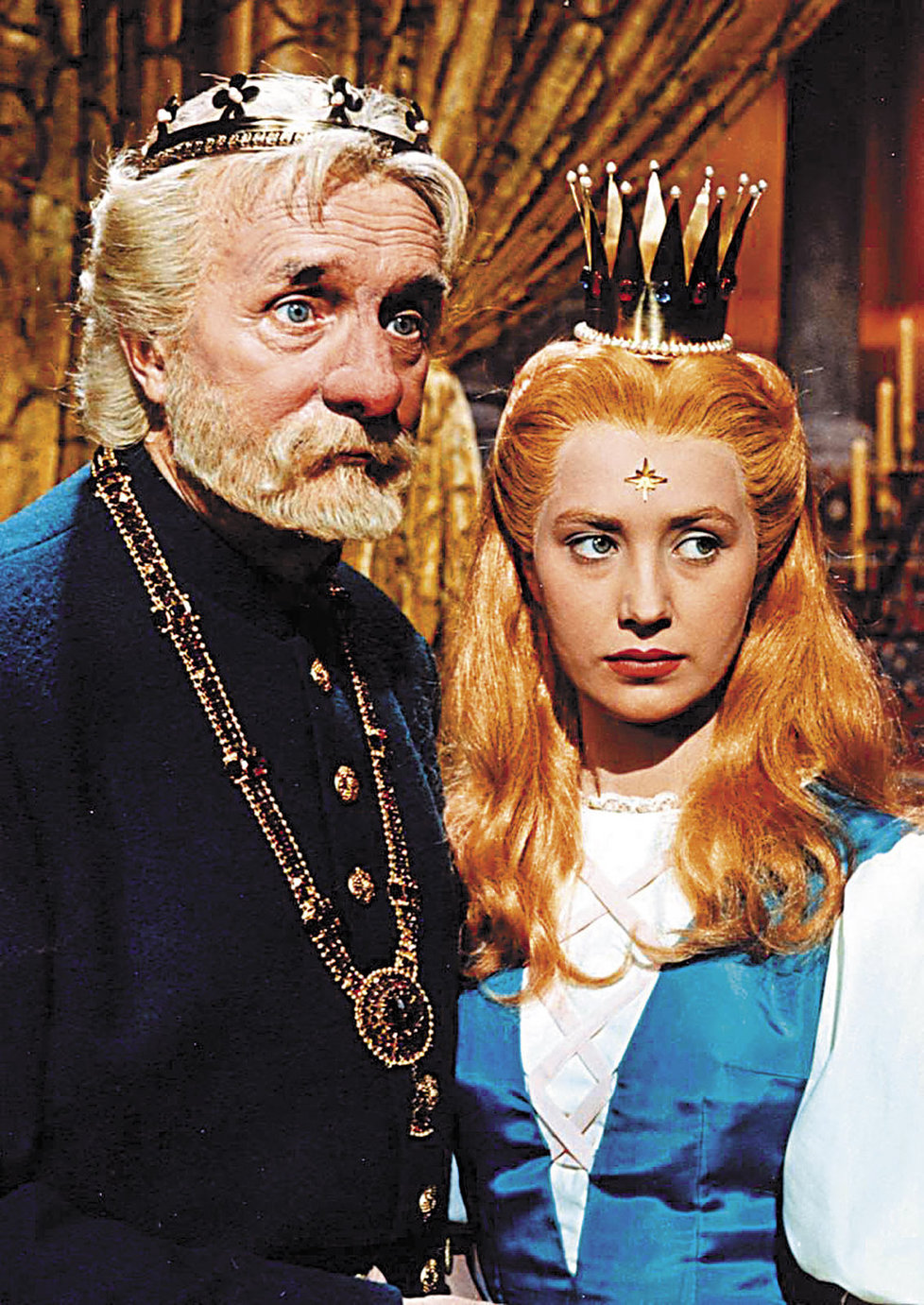 Marie Kyselková jako princezna Lada alias Myší kožíšek.