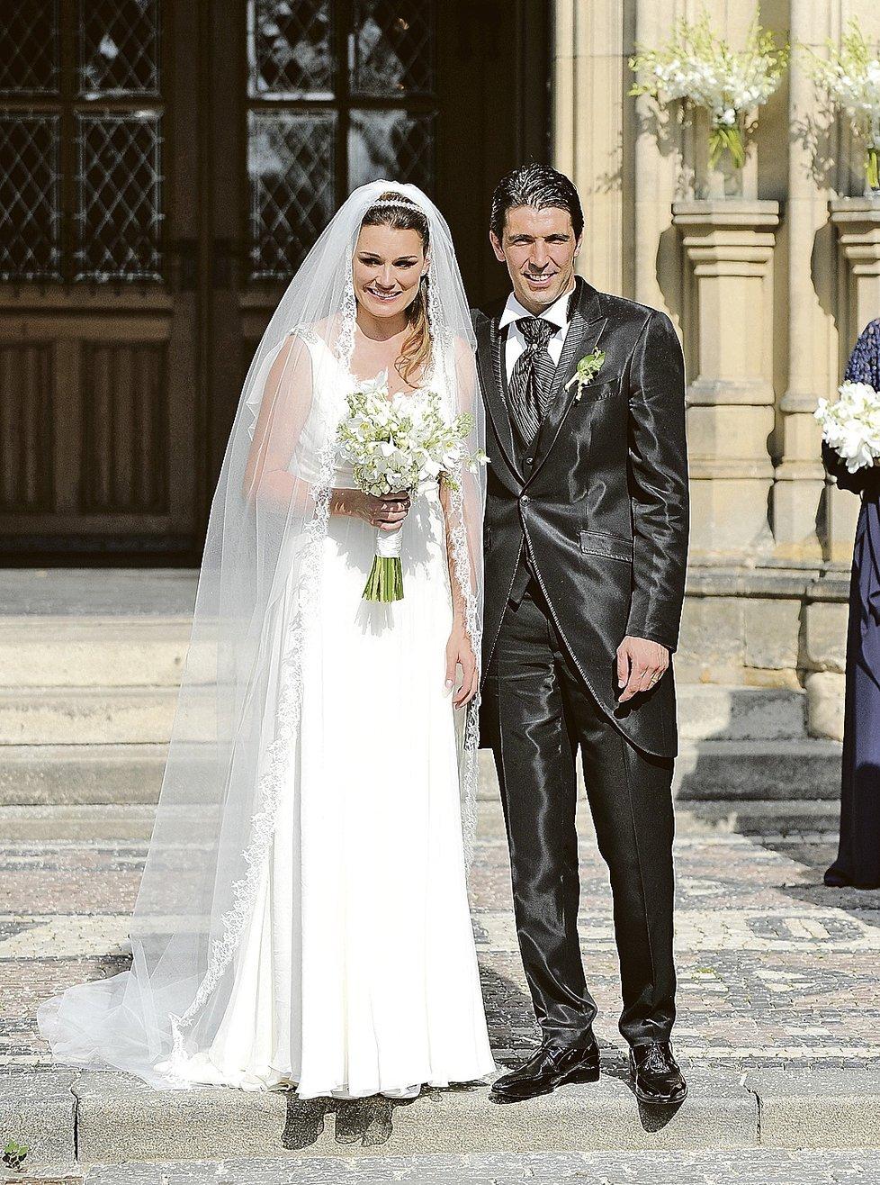 Alena a Gigi se brali v Praze na Vyšehradě. Už tehdy byli oba jejich synové na světě.