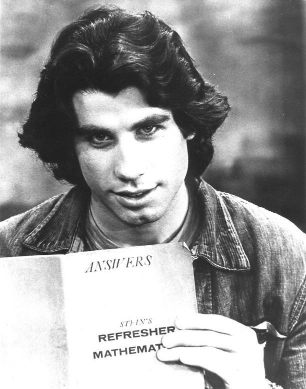1977 – John Travolta po úspěchu Horečky sobotní noci