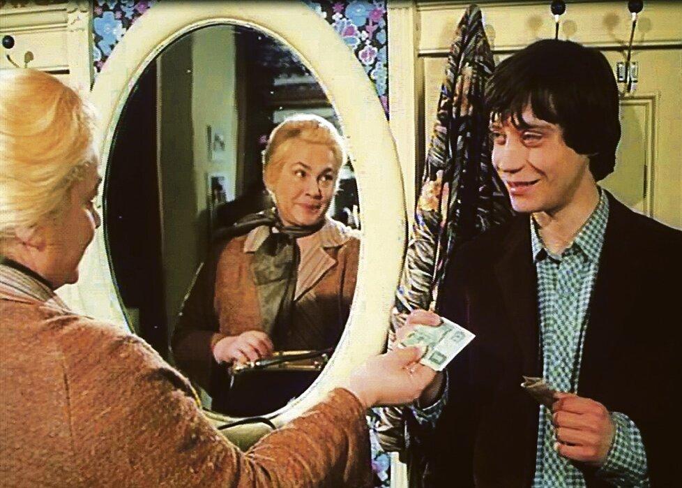 Jak básníci přicházejí o iluze (1984) - Roli milující a starostlivé matky Pavla Kříže si Myslíková skutečně užívala.