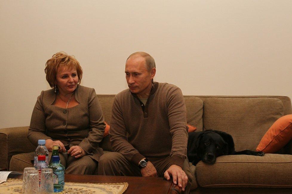 Vladimir Putin a jeho někdejší manželka Ljudmila