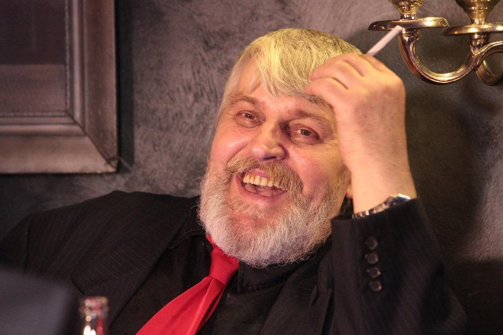 Ivan Jonák v dobrém rozmaru: Svou první party na svobodě si viditelně užíval