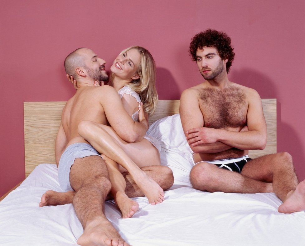 Trojka pre sex blavk korisť