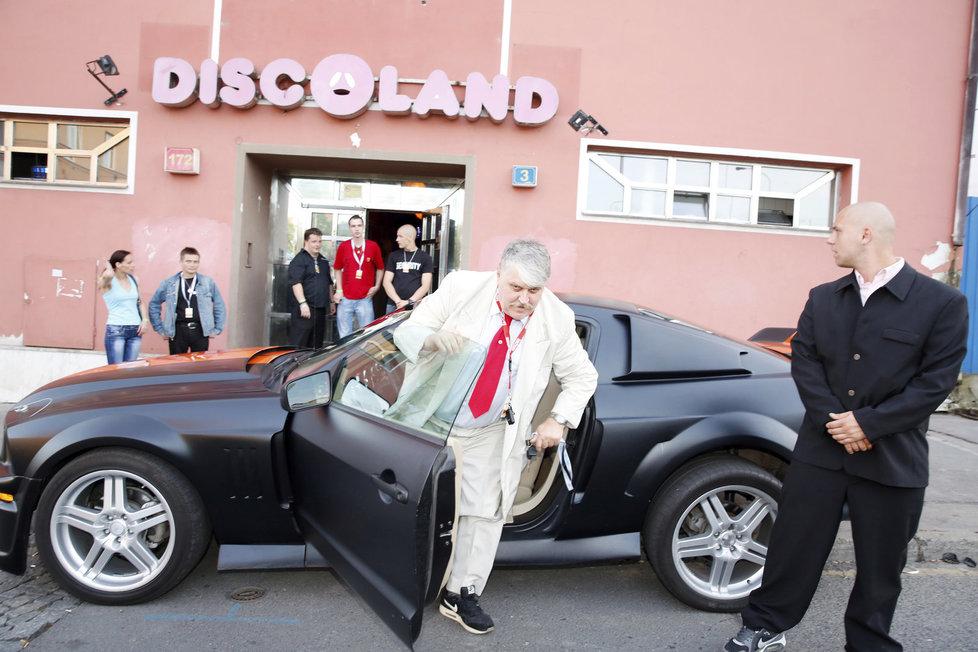 Ivan Jonák se radoval ze zprovoznění Discolandu.