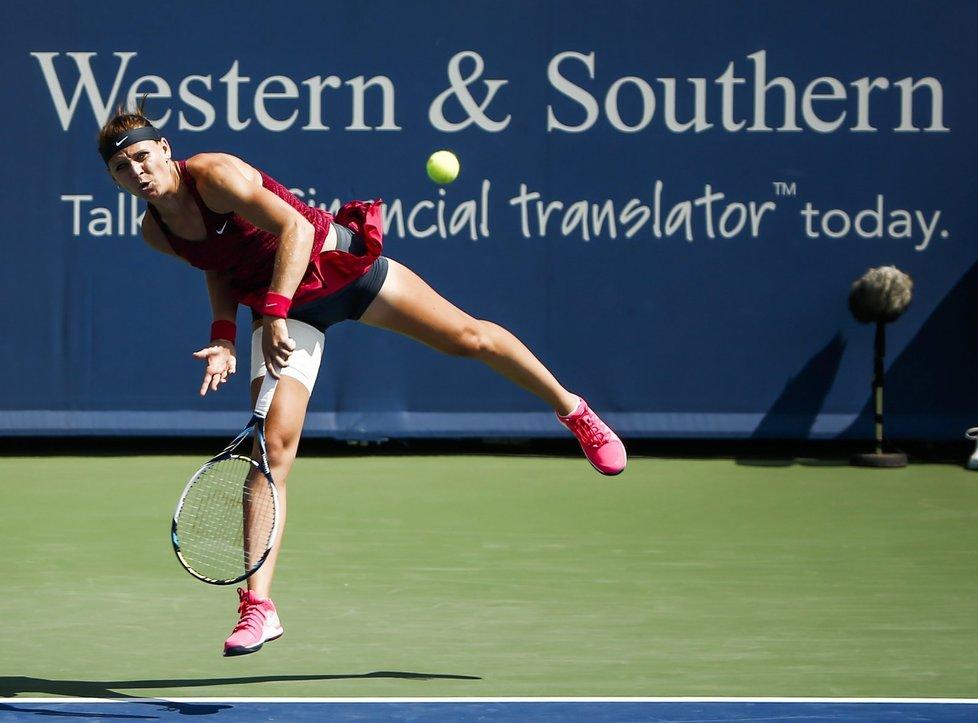 Lucie Šafářová v prvním kole turnaje v Cincinnati porazila soupeřku.