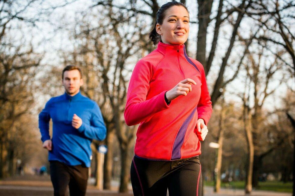 Běhat se musí umět, abyste tělu neublížili!