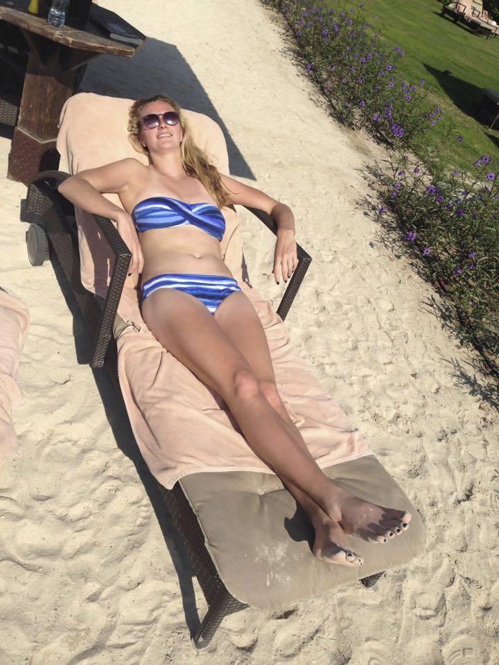 Petra Kvitová odpočívala v Dubaji.