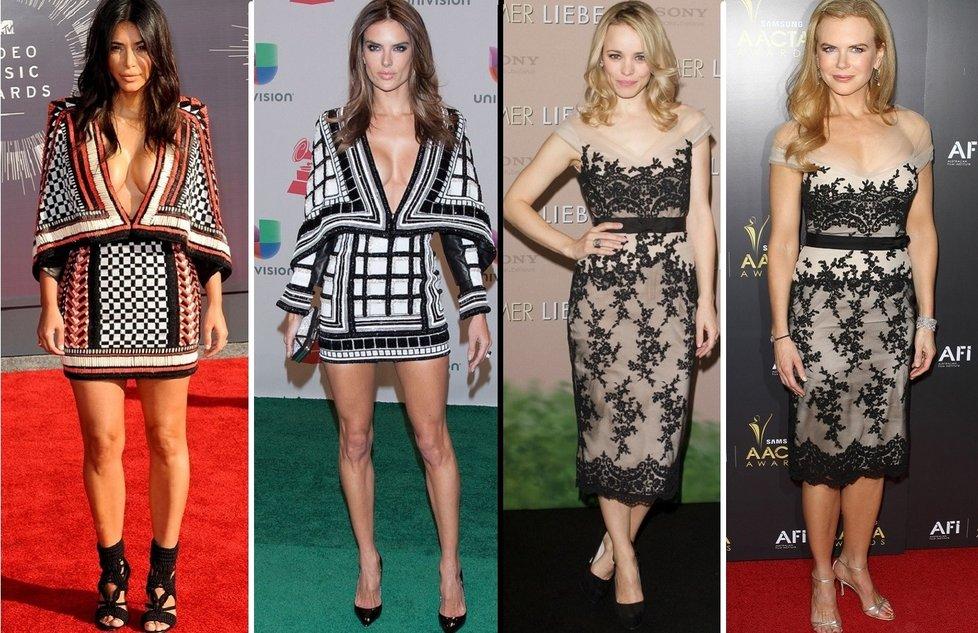 Slavné ženy ve stejných šatech. 8b1cb815379