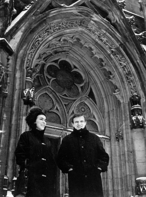Hana Hegerová a Jiří Suchý - 1965