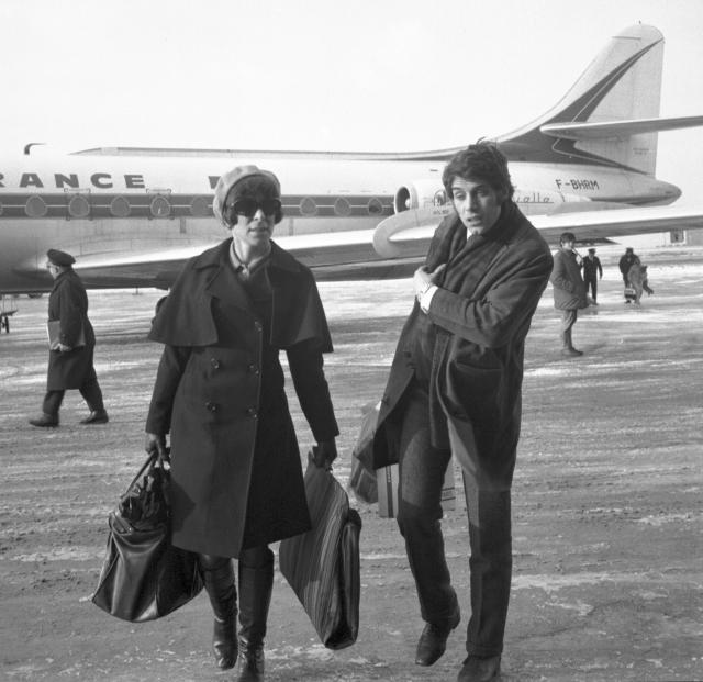 Hana Hegerová a Josef Laufer v roce 1968