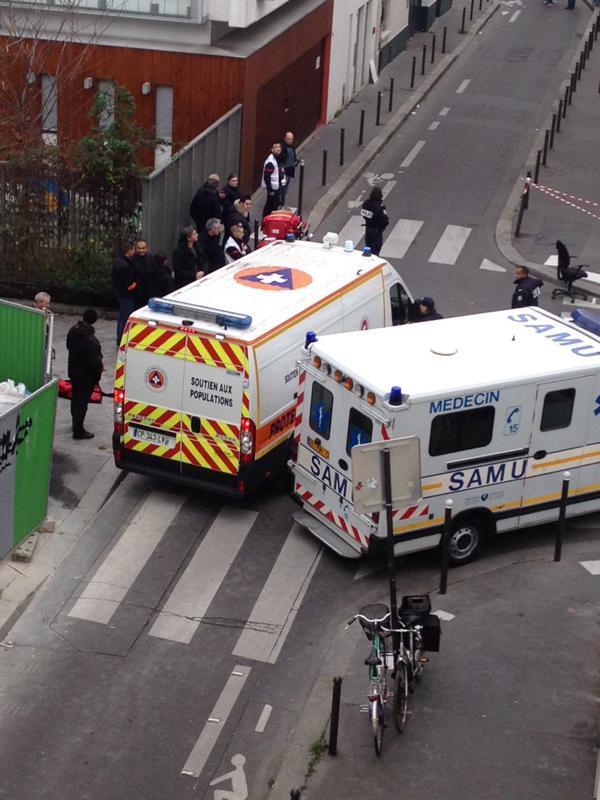 Teroristé zaútočili na francouzskou redakci satirického plátku
