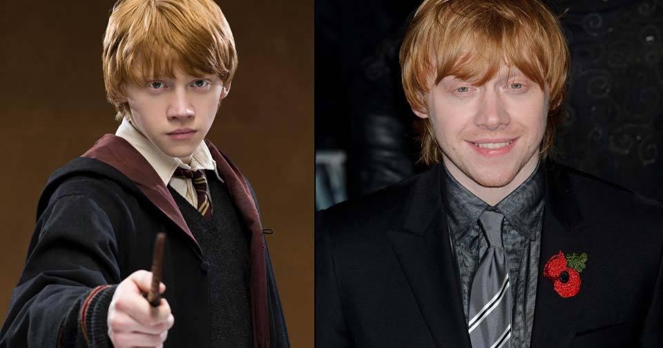 Rupert Grint (26) alias Ron Weasley
