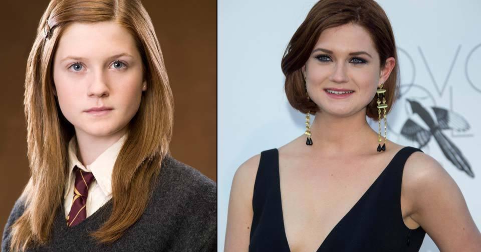 Bonnie Wright (23) alias Ginny Weasley