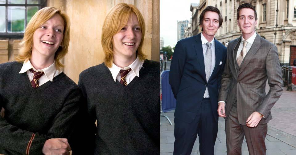James a Oliver Phelps (28) alias dvojčata Weasley