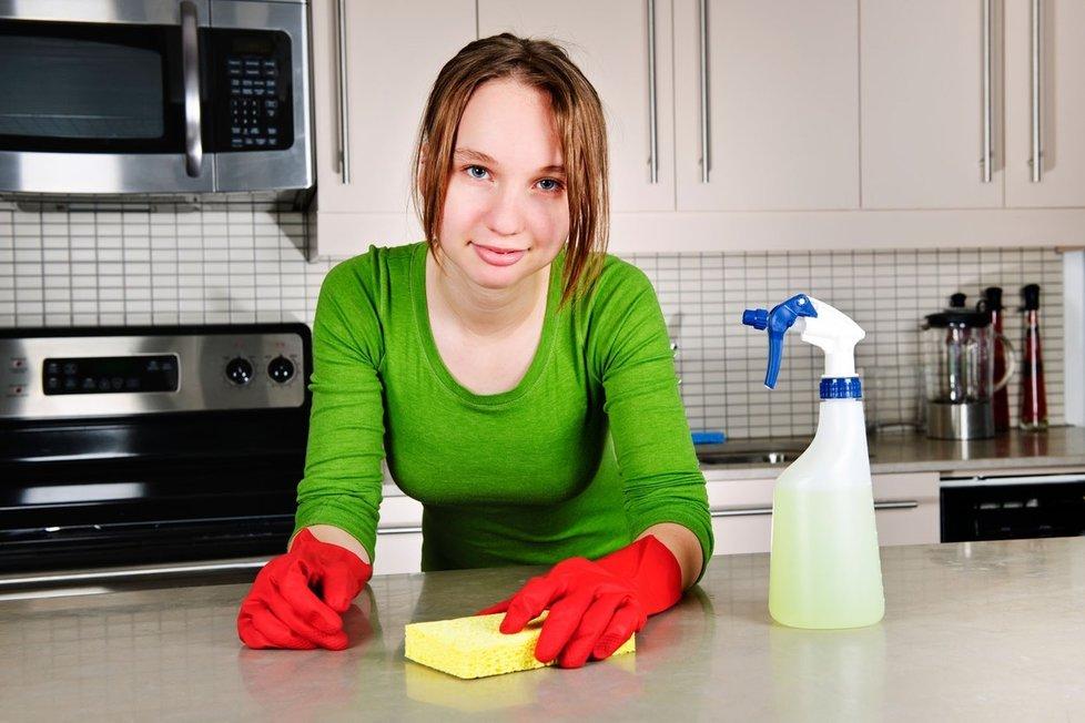 Na jarní úklid se pořádně připravte.