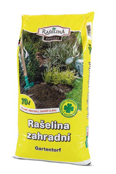 Přidáním rašeliny zahradní do záhonů zkvalitníte půdu, zajistíte její prokypření, provzdušnění i úpravu pH. Rašelina také omezí výskyt kořenových chorob a květiny, stromy, keře i ovoce a zelenina budou zdravě růst i kvést.