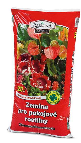Chcete-li, aby i pokojové rostliny prokoukly, pořiďte si pro jejich přesazení zeminu pro pokojové rostliny. Zajistí potřebné živiny a provzdušnění kořenového systému.