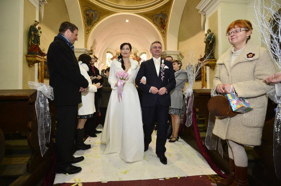 Svatba kancléře Mynáře s krásnou Alex