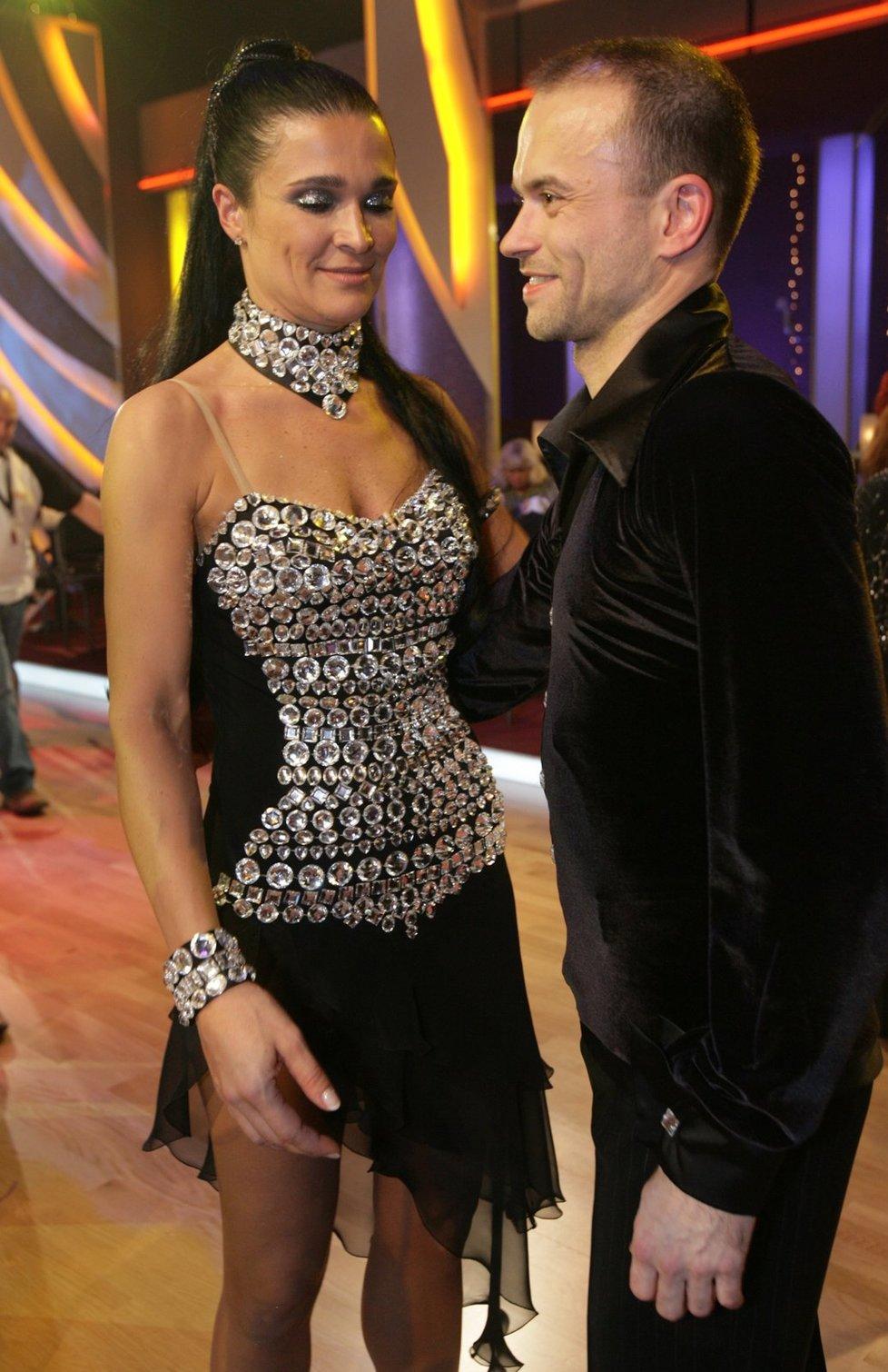 S tanečníkem Jaroslavem Kunešem už (43) nevystupují na akcích tak často jako dřív.