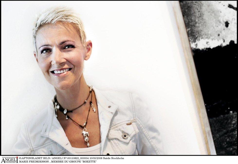 Zpěvačka Marie Fredriksson z Roxette