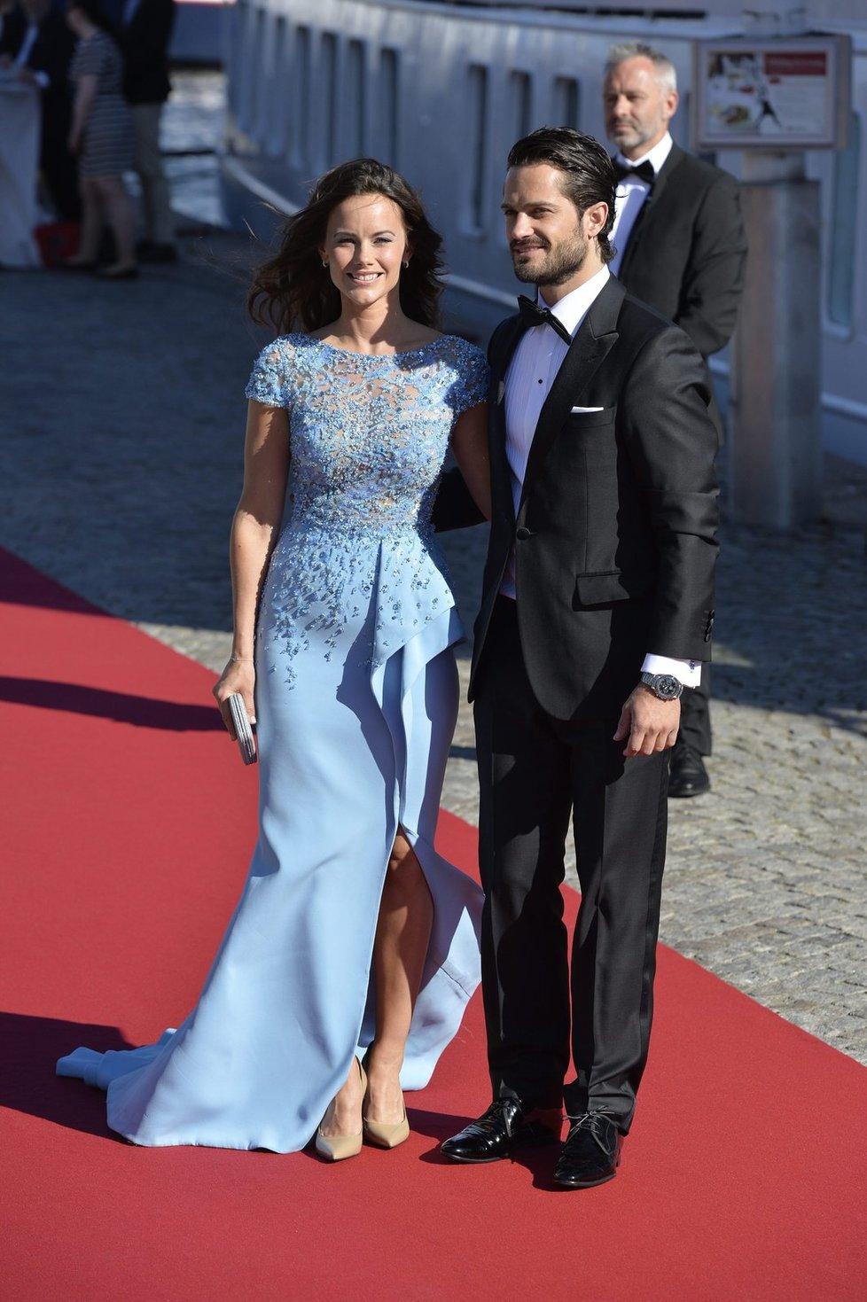 Švédský princ Carl Philip a Sofia Hellqvist