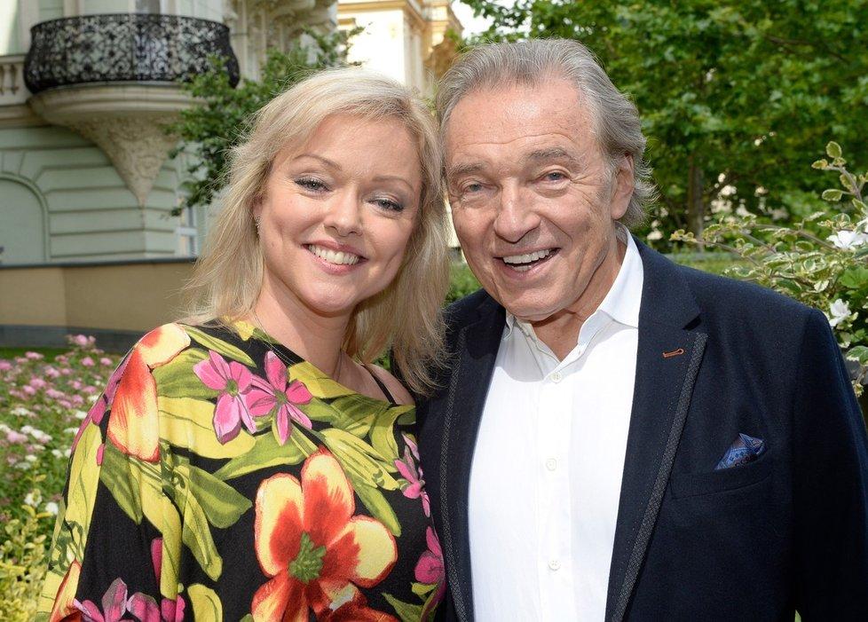 Dominika Gottová se svým otcem