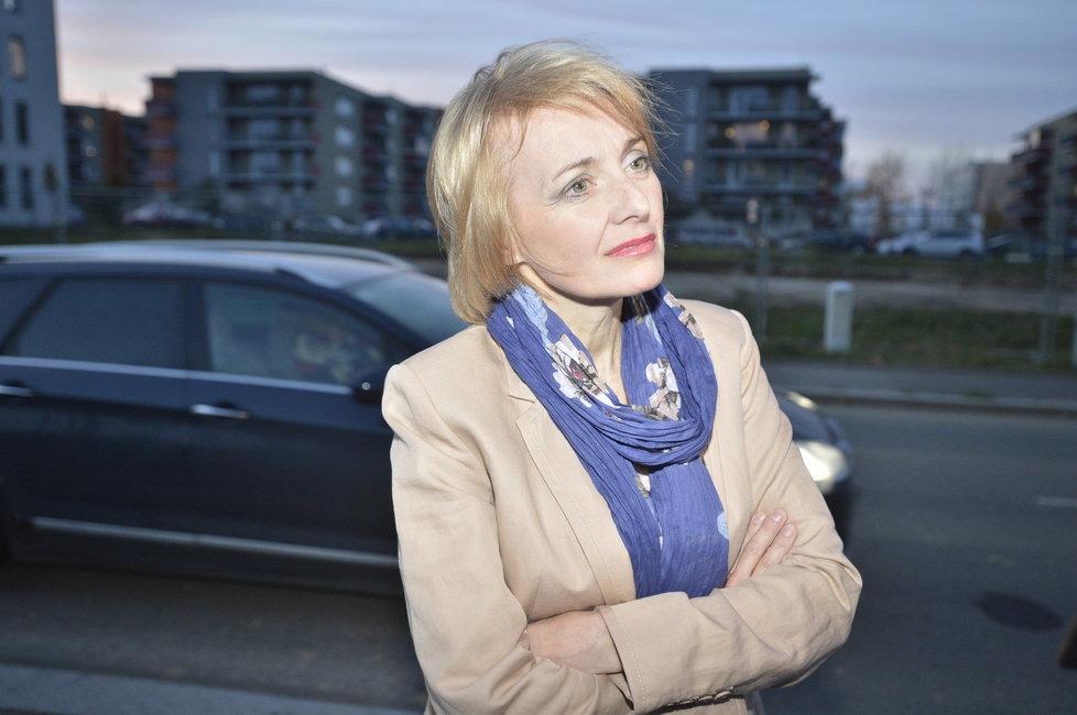 Veronika Žilková (54), herečka
