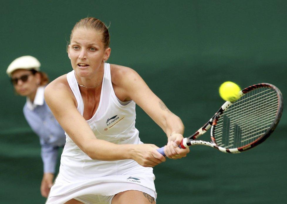 Karolína Plíšková na Wimbledonu skončila před branami třetího kola.