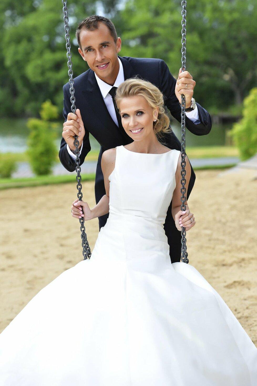 Monika a Lukáš už jsou manželé.