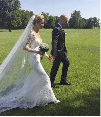 Denisa Dvořáková se vdala za fotbalistu Martina Hromkoviče.