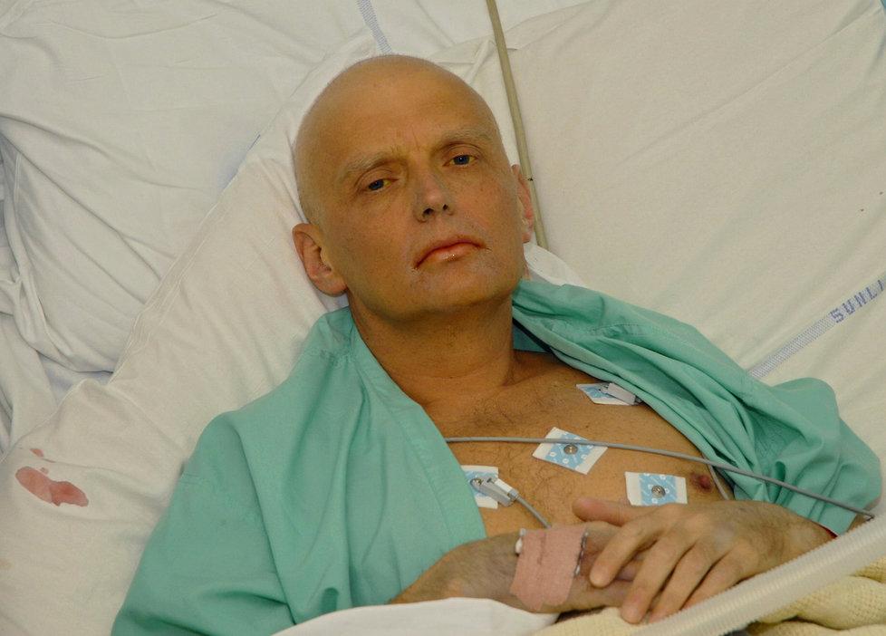 Litviněnko na smrtelné posteli nařkl Putina z toho, že si objednal jeho smrt.