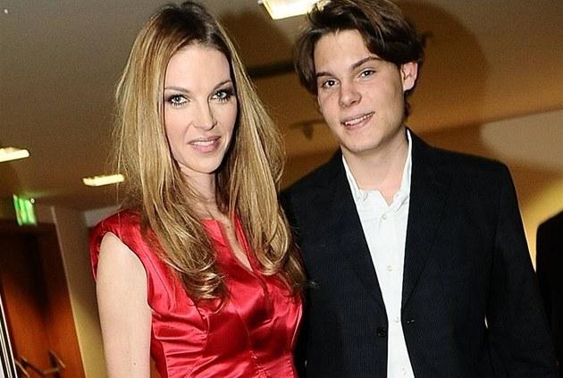 Pavlína Němcová se synem Alainem.