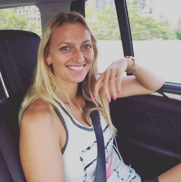 Petra Kvitová si zahrála v seriálu Ordinace v růžové zahradě s Petrem Rychlým