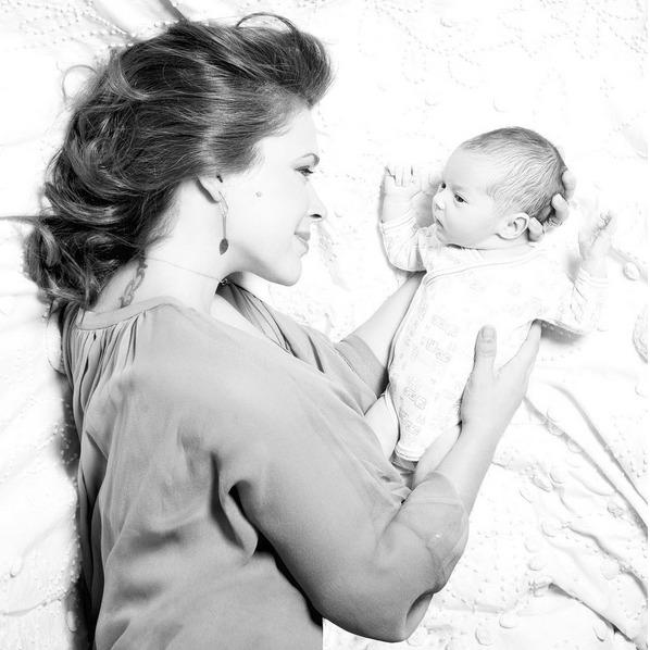 Alyssa se svým nyní už čtyřletým synem Milem.