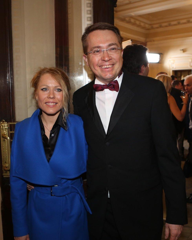 Roman Šmucler s manželkou Ivou