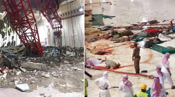 Neštěstí v Mekce si vyžádalo desítky mrtvých.