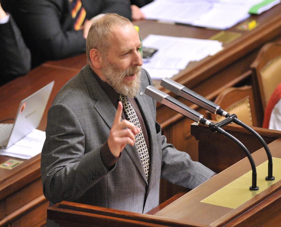 Daniel Korte se trefoval do prezidenta Zemana.