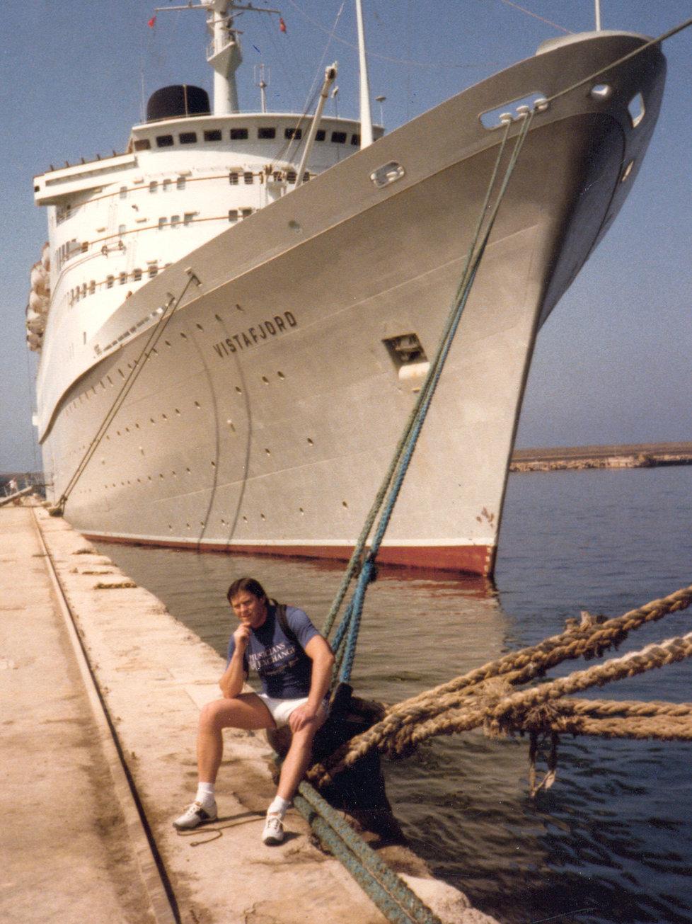 Loď Vistafjord