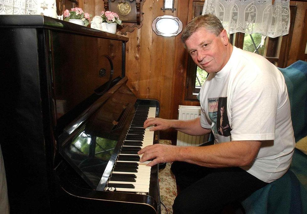 Jazzman Laďa Kerndl.