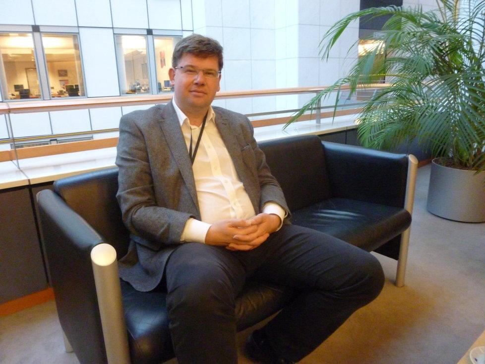 Exministr a europoslanec Jiří Pospíšil v Bruselu