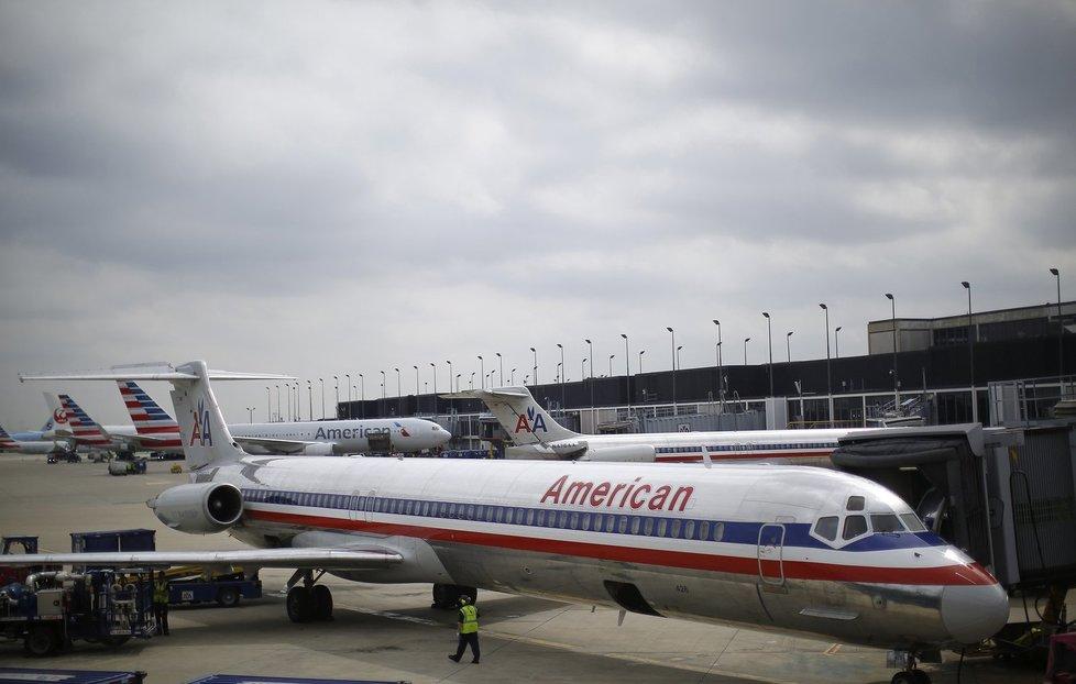 Letadlo společnosti American Airlines