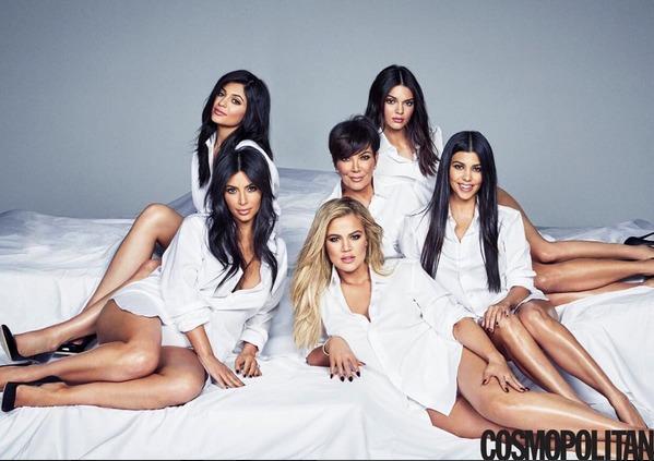 Kris Jenner se svými dcerami