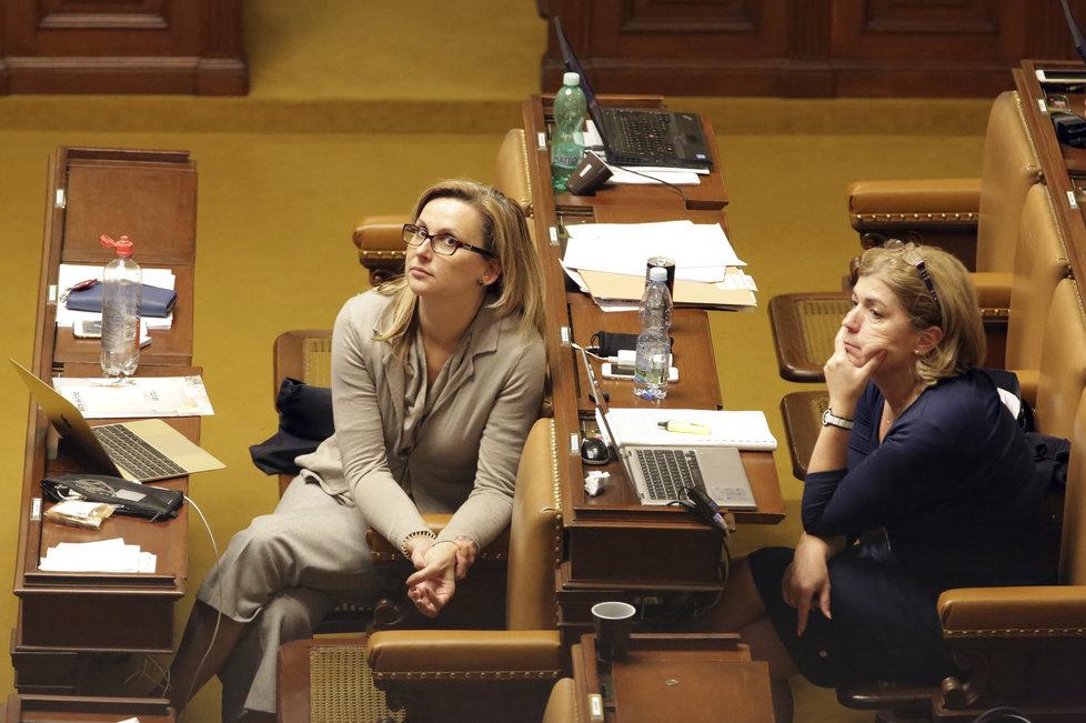 Poslankyně Kristýna Zelienková se stala další přeběhlicí, z ANO odešla na kandidátku TOP 09, mandát neobhájila