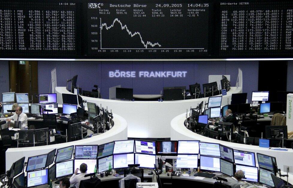 Obchodování na německé burze