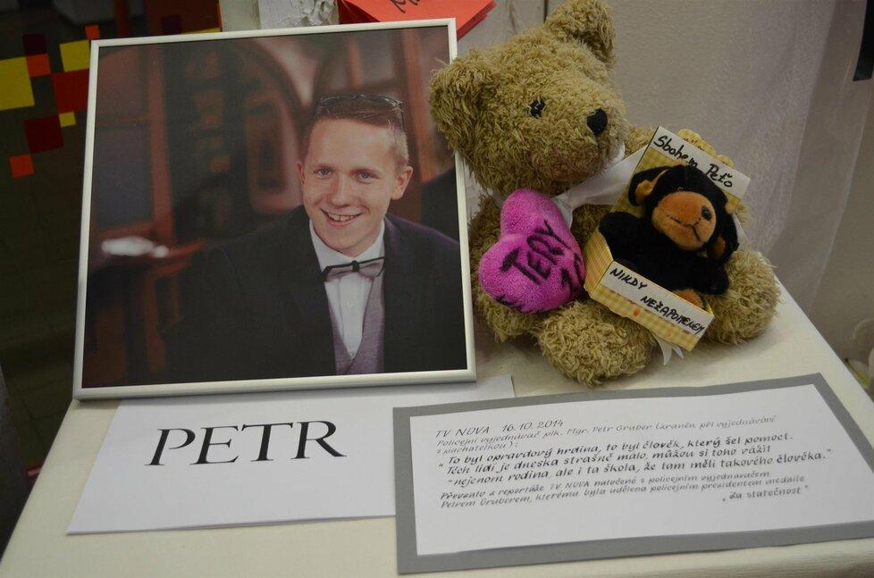 Petr Vejvoda byl zavražděn v říjnu 2014.