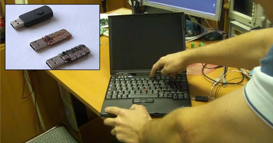 Rus sestrojil USB flash disk, který usmaží počítač.